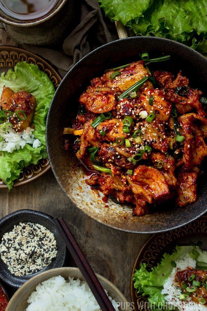 Spicy Korean Pork Bulgogi | Recipe | Spicy korean pork ...