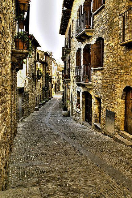 Ainsa 5   Flickr - Photo Sharing! A street in Ainsa. Spain.