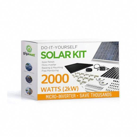 Is This Solar Panel Kit Right For Me Small Systems Such As This 2000 Watt Microinverter Kit Are Great Entry Le In 2020 Solar Panels Solar Panel Kits Best Solar Panels