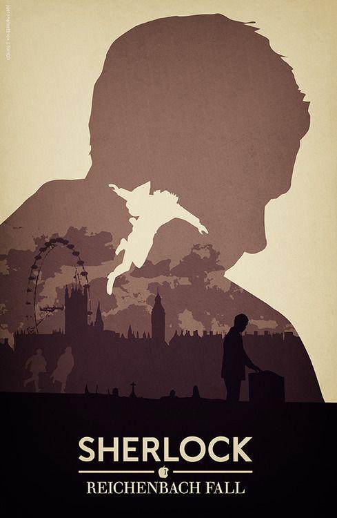Sherlock. Reichenbach fall. So beautiful yet so sad.