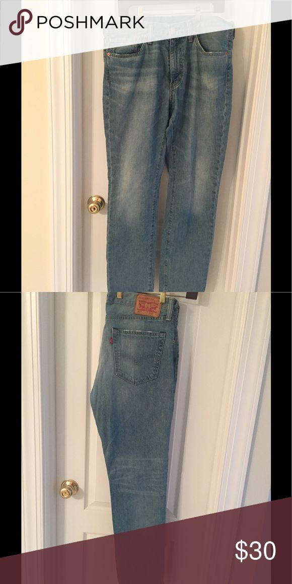 Levi Strauss 511 Long Jeans Levi 511 long blue denim jeans with front and back pockets.  Waist 36 and length 32. Levi's Jeans Slim Straight