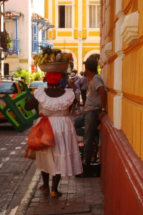 women in cartagena