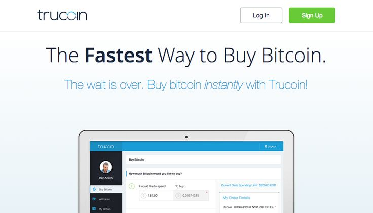 Trucoin Opens MasterCard, Visa Bitcoin Buying Services in US. Service not yet available in the UK 17/07/14