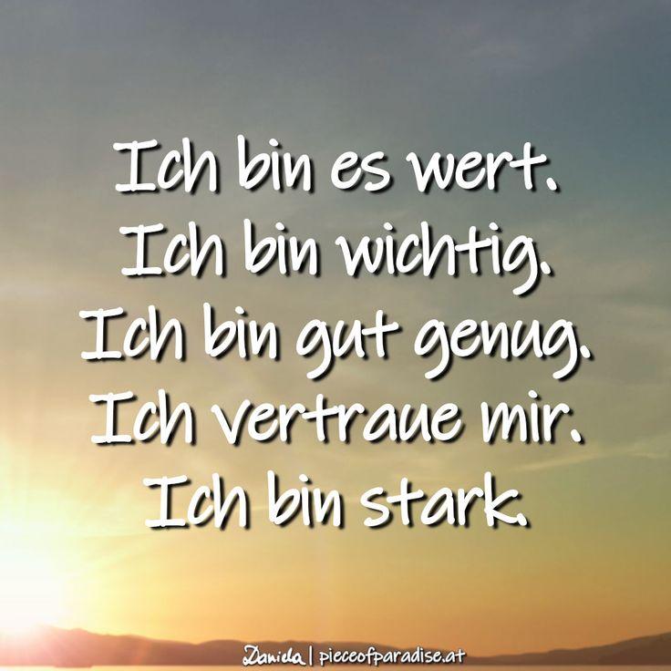 Ich bin…