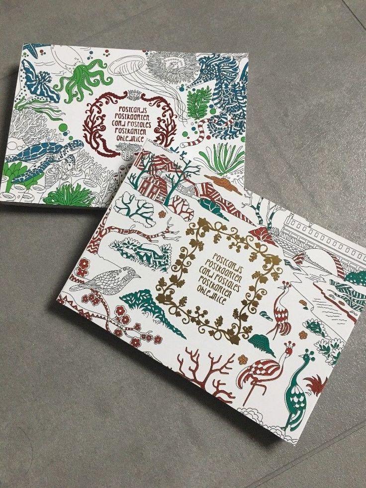 Mandala Postkarten 2x20 Karten Malen Motiv Basteln Geschenk Buch Block Stift Neu  | eBay
