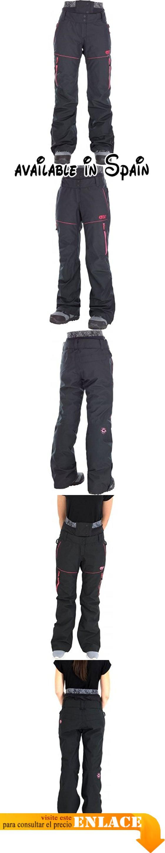 B075F8YPS8 : Picture Organic Clothing Exa Pant Pantalones para la Nieve para Mujer Negro (Black) (Tamaño del Fabricante:S). #Ropa #OUTERWEAR