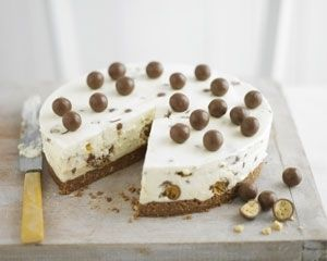 Πανεύκολο+Cheesecake+Maltesers+σε+15+λεπτά