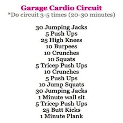 99 Best Images About Circuit Training Workouts On Pinterest