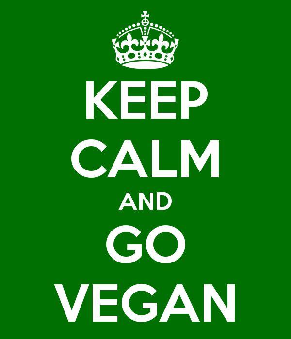 Keep calm and go vegan  Mais qu'est ce que cela veut dire être vegan ? Découvrez l'article de Doux Good sur son blog  http://blog.doux-good.com/vegan-quest-ce-que-cela-veut-dire/ #vegan #cosmétiques #animaux