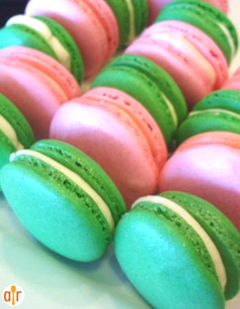 "Macaron | ""This is a perfect recipe for Macarons; I have made them several times and each time i get perfect round mounds with no cracks."""