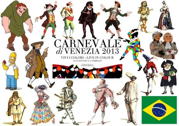[Carnevale 2013] Il gioco delle maschere di Carnevale di grandi e bambini