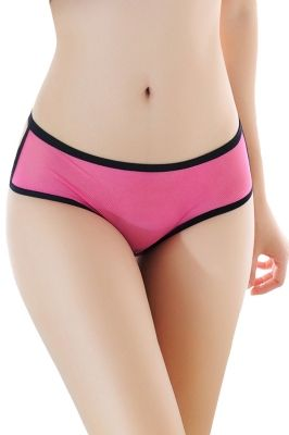 Rosy Mesh Cutout Strappy Chain Back Panty