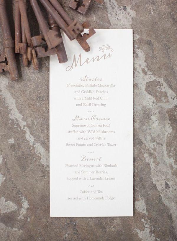 Artcadia Chic and Creative Letterpress Wedding