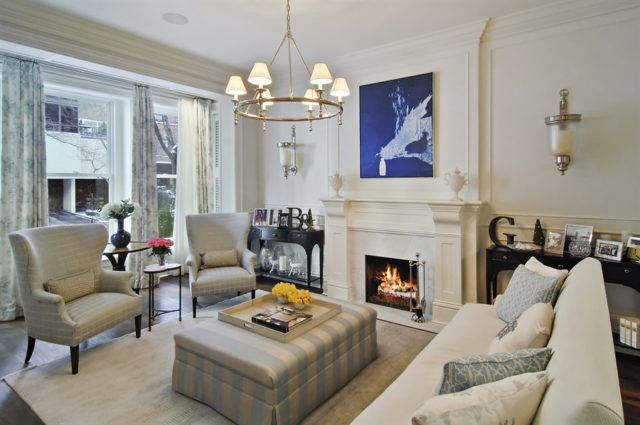 Celebrity Homes The Rancic S Designs By Katy Family Room