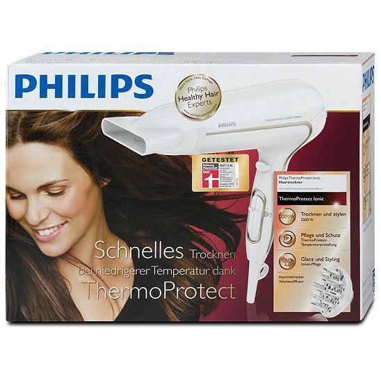 Philips Haartrockner Thermo Protect Ionic, Lockenstab, Glätteisen, Föhn & Co im dm Onlineshop direkt bestellen.