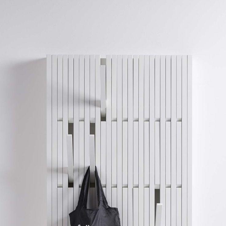 Wide Piano Hanger | Beech White