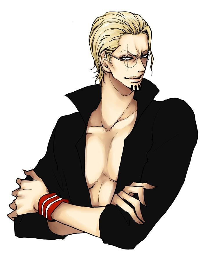 One piece, once upon a time. Silvers rayleigh......woah. *blush