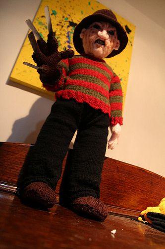 Amigurumi Freddy Krueger by Olá Olá Bonjour TragedyTrousers