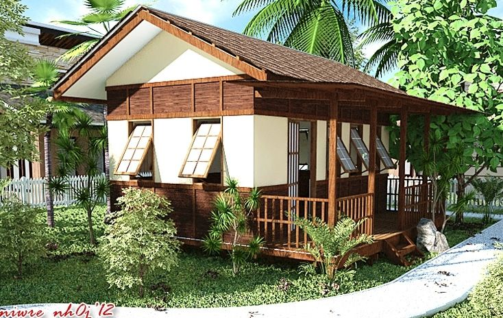 Modern nipa hut design nipa hut here in the for Small rest house designs in philippines