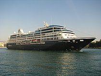 Το Azamara Journey καταπλέει στον Πειραιά. 26/09/2013.