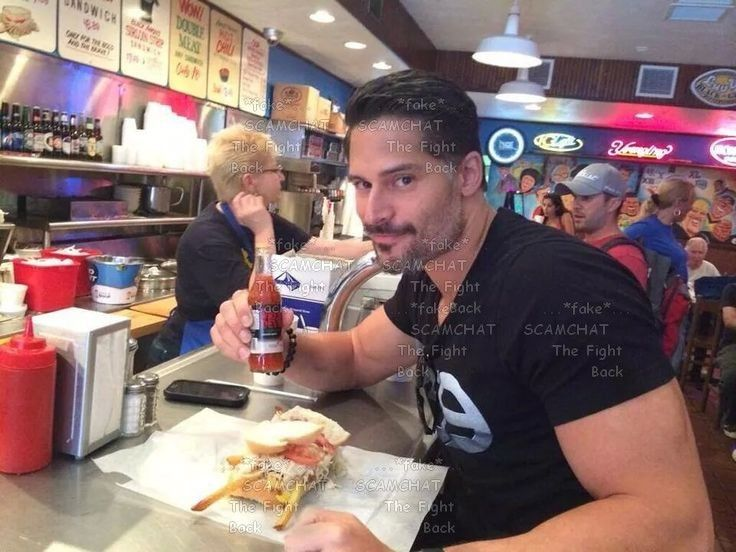 DAVID JOHN... FAKE ... USING THE STOLEN PICTURE PICTURES OF Joe Manganiello https://www.facebook.com/thefightbackstartshere/posts/394168147620795