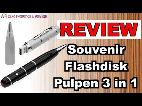 Jual souvenir  Flashdisk Pulpen 3in1