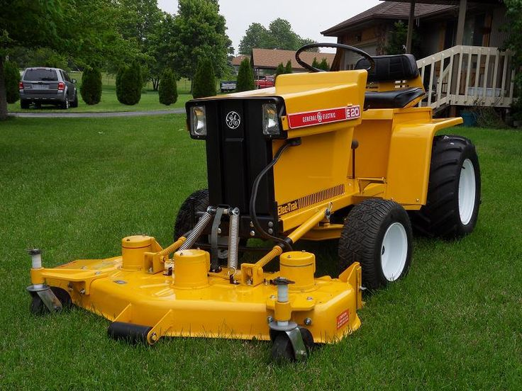 The 25 best tractor mower ideas on pinterest far side cow tools elec trak electric tractor sciox Image collections