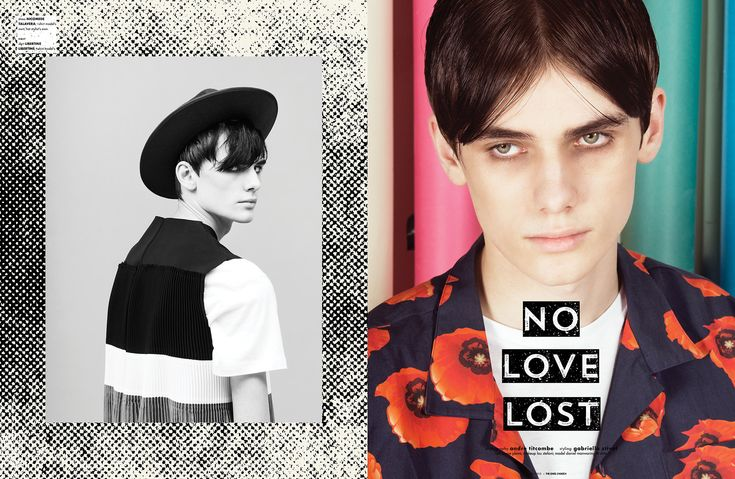 Libertine-libertine and Rascals featured in The One's to Watch editorial No Love Lost Photography Andre Titcombe Styling Gabriella Stival Hair Louise Plews Makeup Lou Stefani Model(s) Daniel Manwaring @ Elite London (London) #brand #casual #cool #designer #editorial #fresh #magazine #article #new #ontrend #urban #autumn #winter #AW15 #clothing #Fashion #fresh #garms #garments #label #mens #clothing #fashion #MENSWEAR #staples #summer