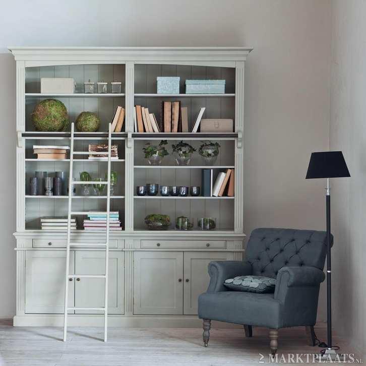 Marktplaats nl  u0026gt; Bibliotheekkast witte Amandine   Huis en Inrichting   Kasten   Boekenkasten