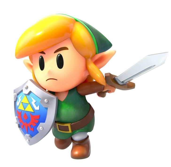 "LoZ Vinyl LINK Legend of Zelda 3/"" Droid Action Figure Majora/'s Mask Version"