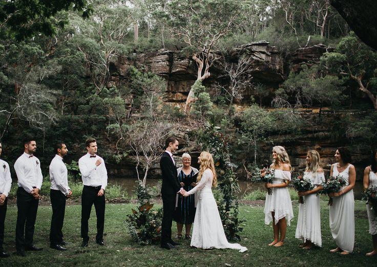 Melanie & Adam Wedding Ceremony - Audley Dance Hall. Josh mikhaiel