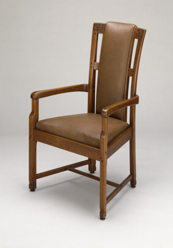 Hall Armchair From The Robert R. Blacker House, Pasadena, California /  Charles Sumner