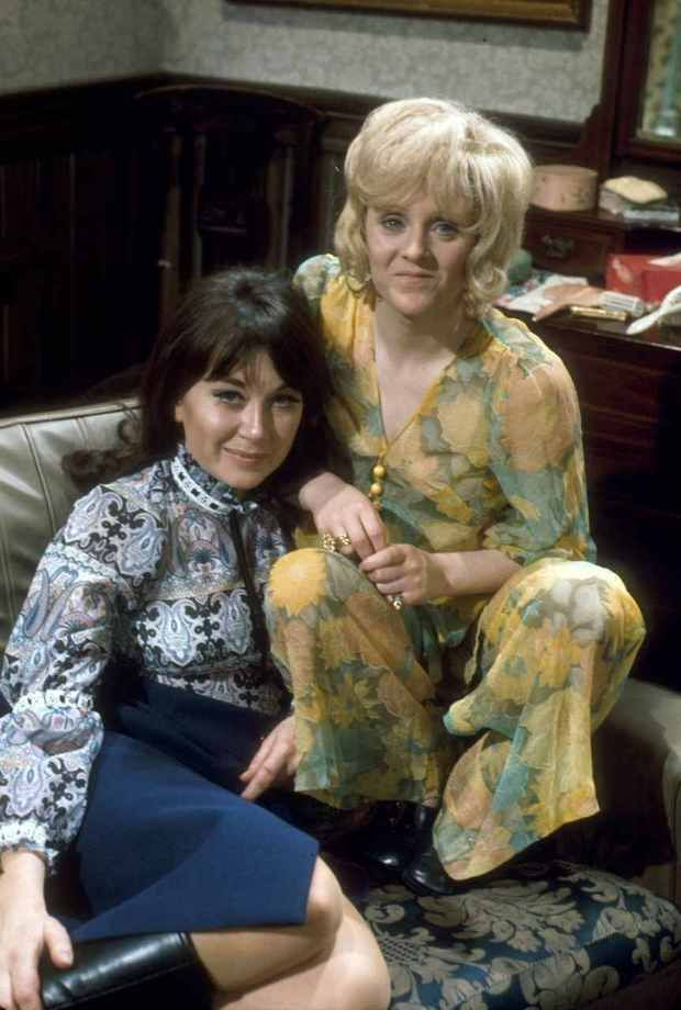 The Liver Birds - Nerys Hughes and Polly James