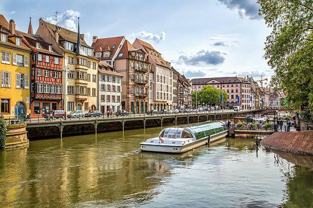 Улица Страсбург стоковое фото