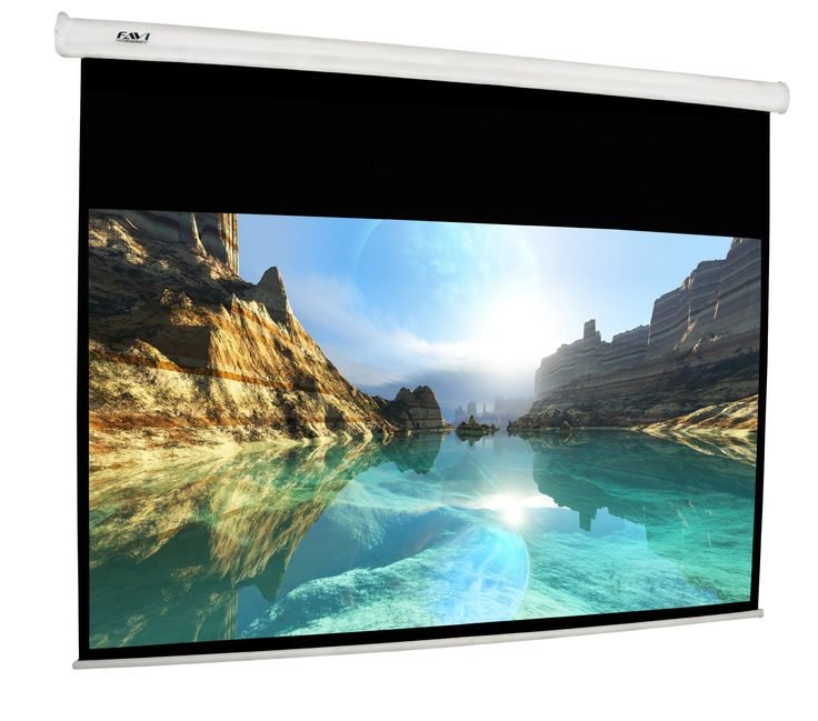 120-inch (16:9) Electric Projection Screen - International Version (No Warranty) - DIY Series - White (HD120-IV)