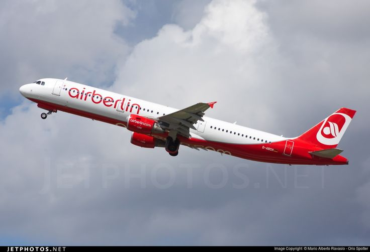 Airbus A321-211, Air Berlin, D-ABCH, cn 4728, 210 passengers, first flight 20.5.2011, Air Berlin delivered 31.5.2011. Active, for example 28.9.2016 flight Berlin - Munich. Foto: Dusseldorf, Germany, 2.7.2016.