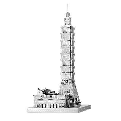 Fascinations ICONX Taipei 101 Building 3D Metal Model Kit