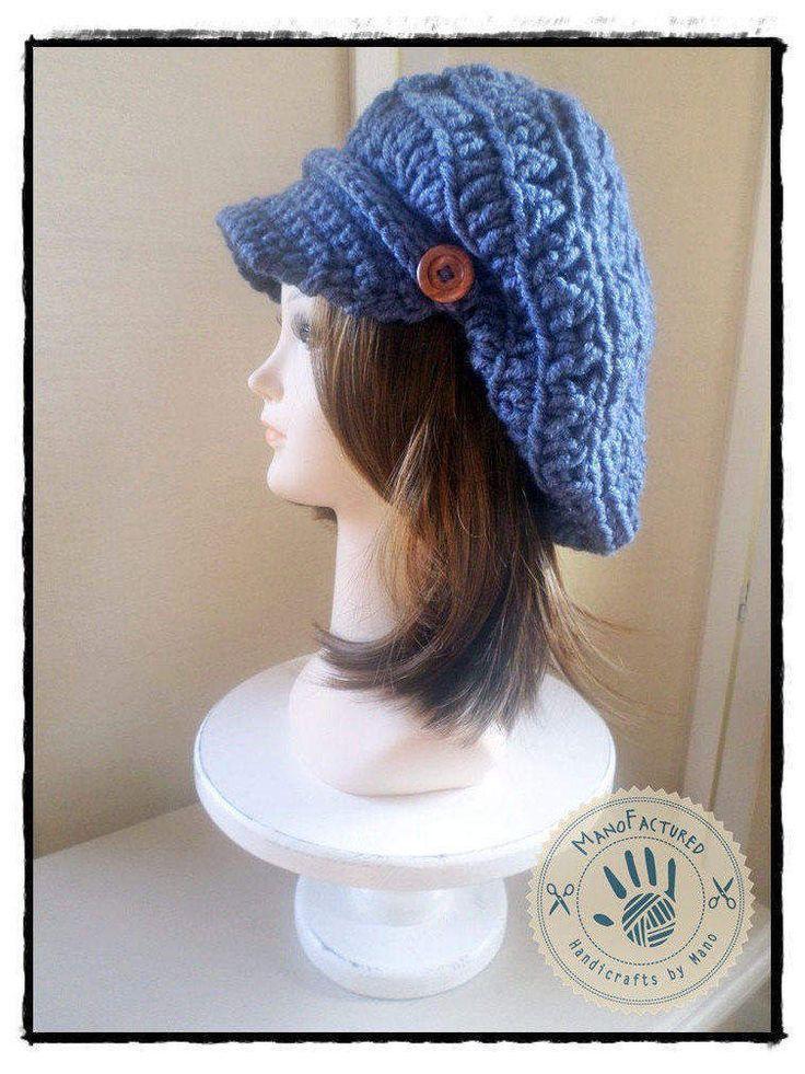 Dublin crochet cap by ManoFactured on Etsy