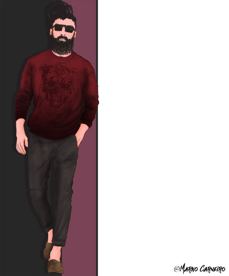 Moda masculina: um amor.