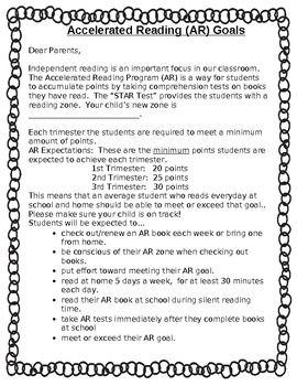 AR Parent Letter   # Pin++ for Pinterest #