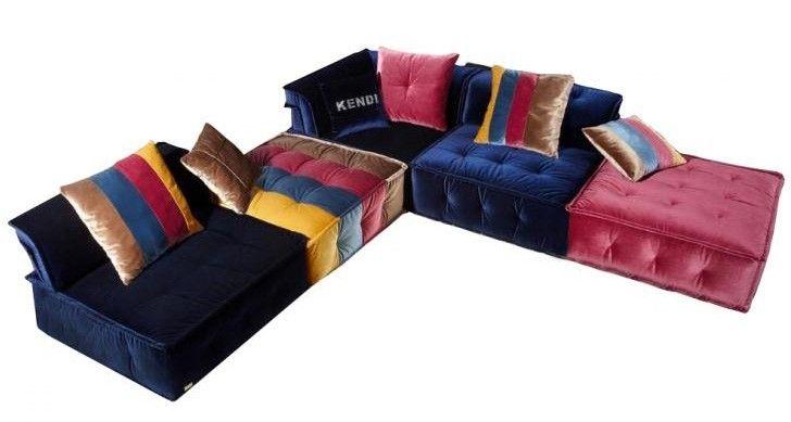 Vig Furniture - Divani Casa Dubai - Contemporary Fabric Sectional
