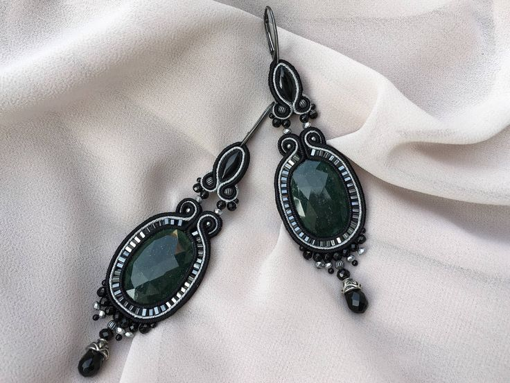 A personal favorite from my Etsy shop https://www.etsy.com/listing/506249284/long-earrings-with-green-aventurine-onyx