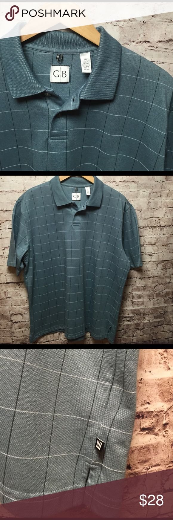 🆕 NWOT Men's GEOFFREY BEENE Polo Shirt 🆕 Men's GEOFFREY BEENE Polo Shirt ... NWOT! Colors are white black and teal blue! Geoffrey Beene Shirts Polos
