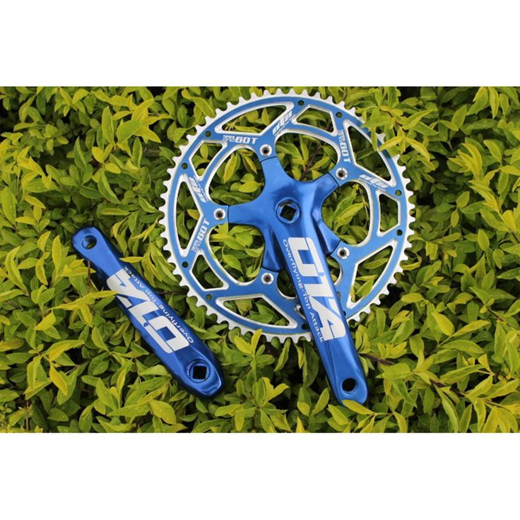 Taiwan OTA 60T Aluminum AlloyBicycle Crankset Road Bike Dead-Fly Chainwheel 170mm Ultralight Bike Cycling Chain Wheel Bike Parts  //Price: $US $51.00 & FREE Shipping //     #fans #play #playing #player #field #green #grass #score   #goal #action #kick #throw #pass #win #winning