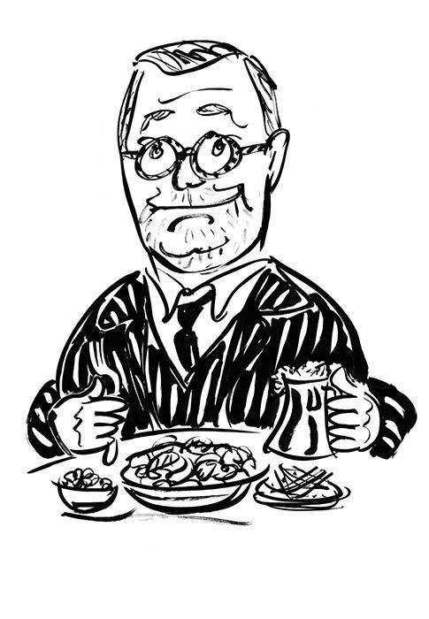 """""""Tripe lifts your spirits."""" Out to Lunch with Fergus Henderson."""