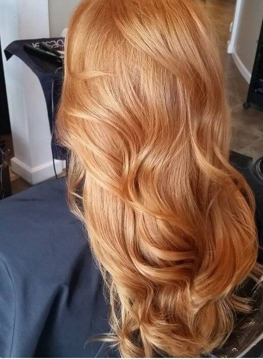 Honey Foam Hair Color