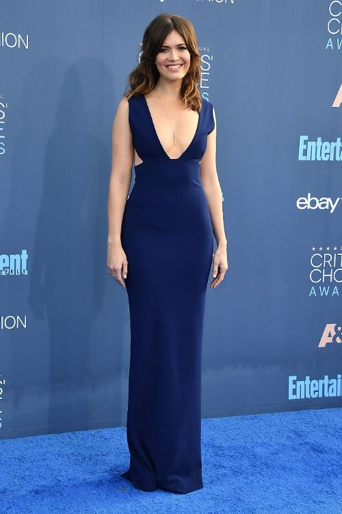 Mandy Moore at Critics' Choice Awards 2016 in Solace London, Мэнди Мур