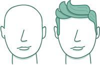 potongan rambut pria untuk wajah bulat
