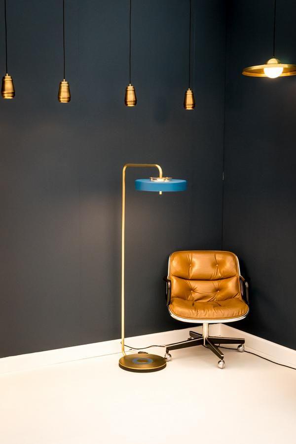 Mid Century inspired lighting from Bert Frank.