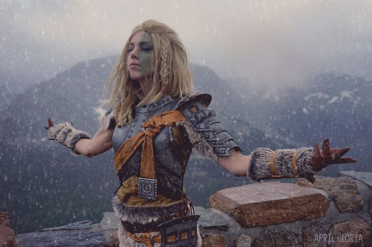 Mjoll the Lioness Cosplay #games #Skyrim #elderscrolls #BE3 #gaming #videogames #Concours #NGC
